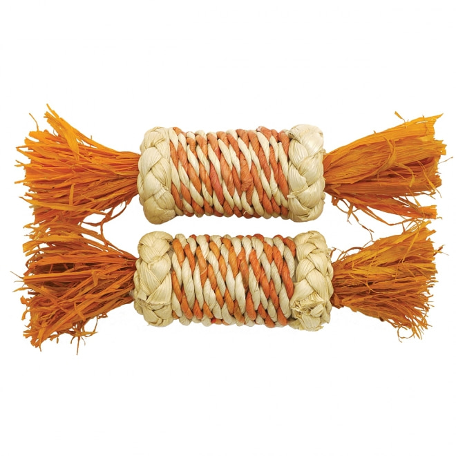 Lelu Rosewood Corn Rattle Rollers 2 kpl