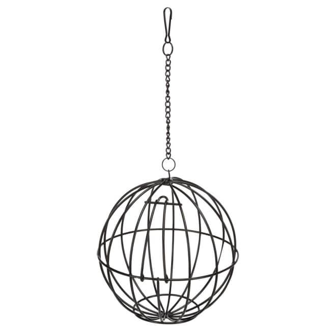 Metallinen herkkupallo 16 cm
