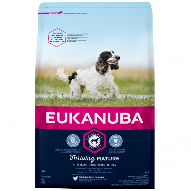Eukanuba Mature Medium