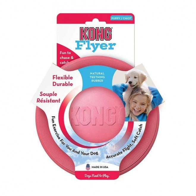 Kong Puppy Flyer, 18 cm