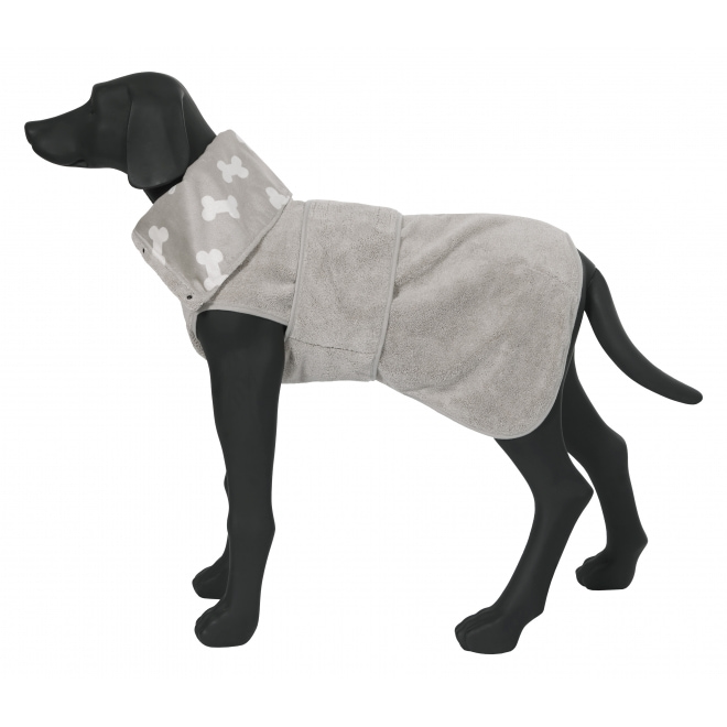 Rukka Micro koiran kylpytakki beige