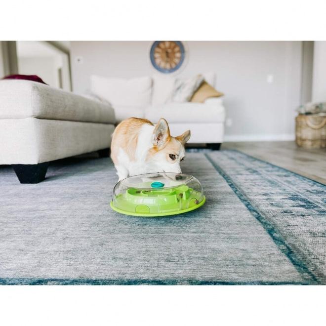Nina Ottosson Dog Wobble Bowl lime