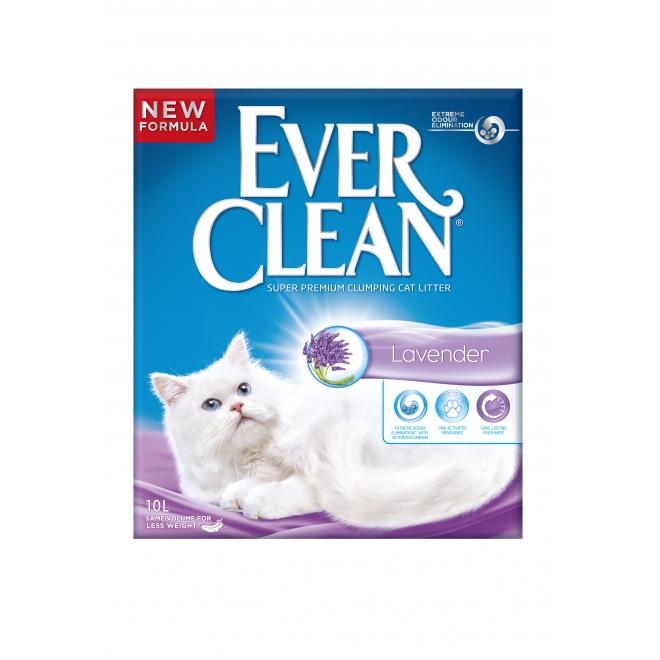 Kissanhiekka Ever Clean Lavender