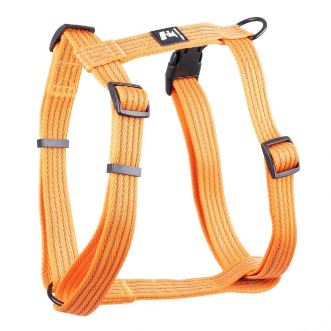 Koiran valjaat Feel Active Weave, oranssi