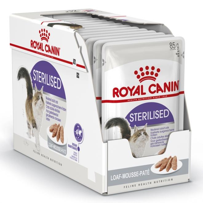 Royal Canin Sterilised Loaf, 12x85g