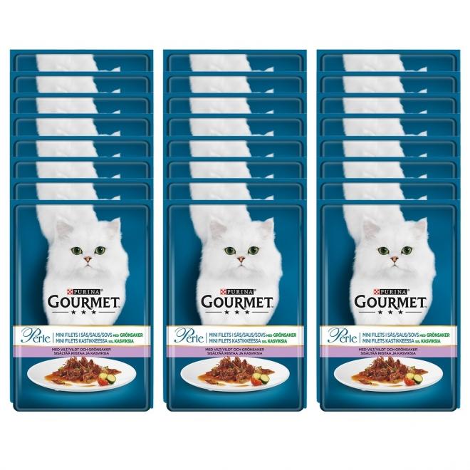 Gourmet Perle Riista Minifillets 24x 85g