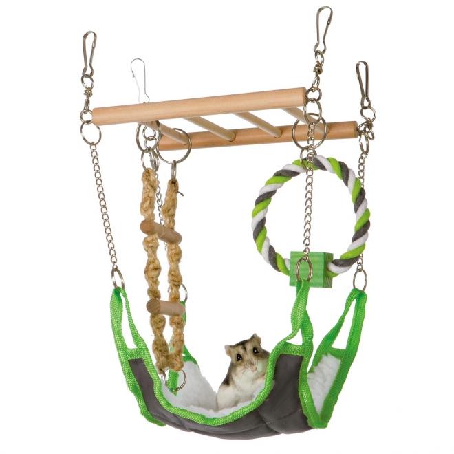 Hamsterin riippusilta Trixie 17 x 22 x 15 cm