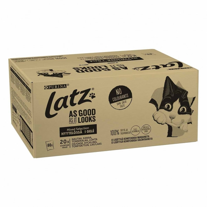 Latz Agail Mixed lajitelma 80x85 g