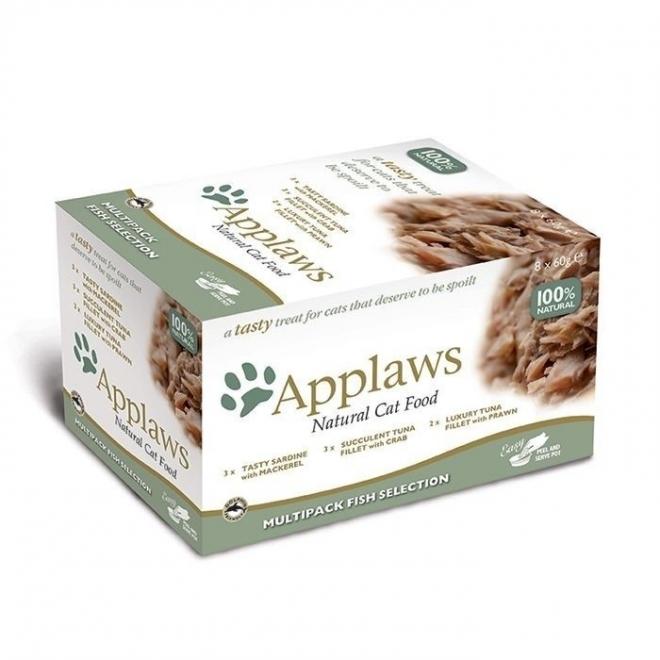 Applaws Pot Kalalajitelma 8x60g