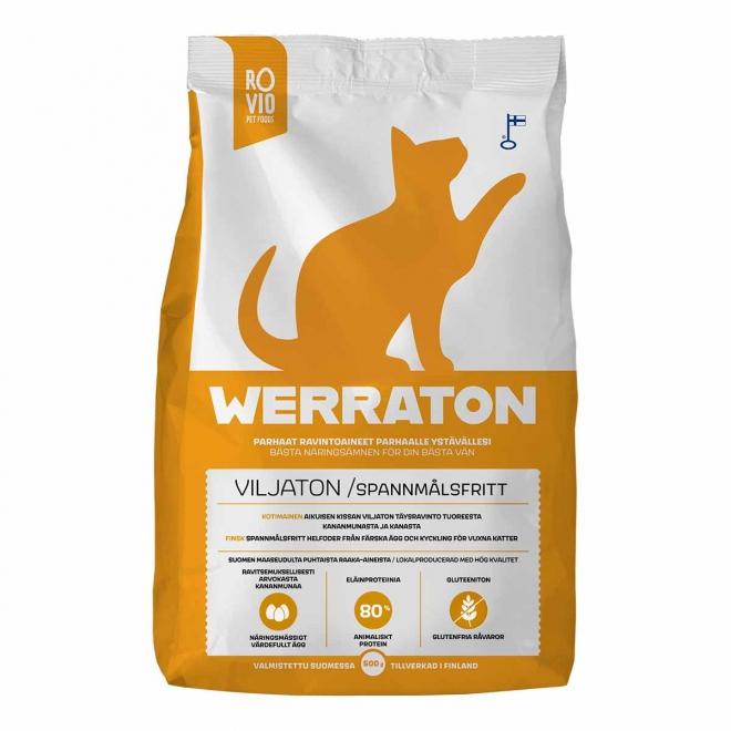 Werraton Viljaton kissanruoka (500 g)