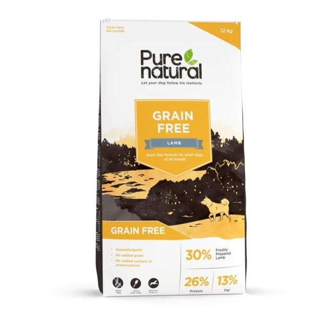 Purenatural Adult Dog Grain Free Lamb (12 kg)