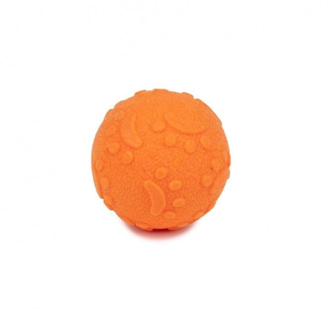 Koiran leluLittle&Bigger FoamTPR pallo (Oranssi)