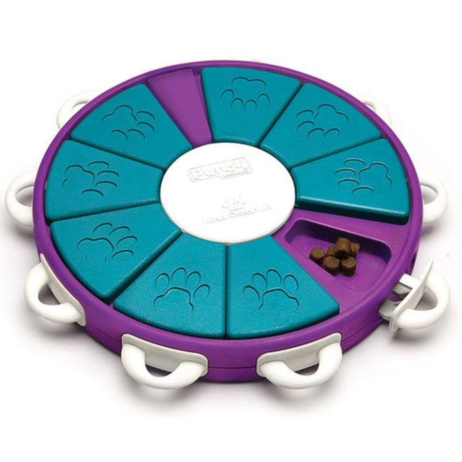 Aktivointilelu Dog Twister, violetti