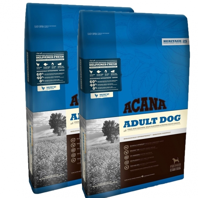 Acana Adult Dog 2 x 11,4 kg