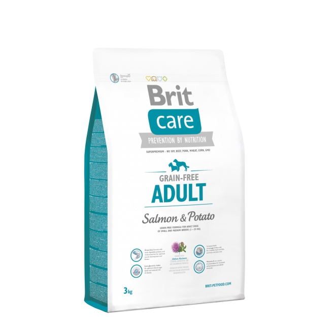 Brit Care Adult Salmon (3 kg)