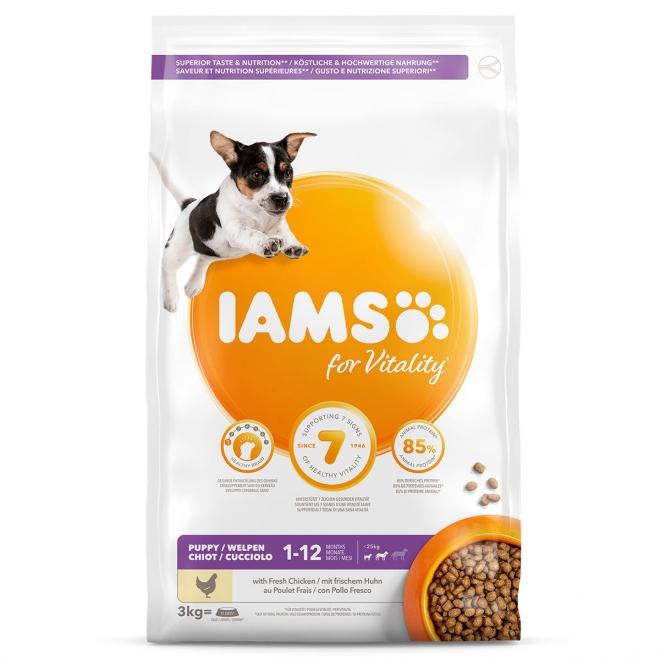 IAMS Puppy Small & Medium 12 kg