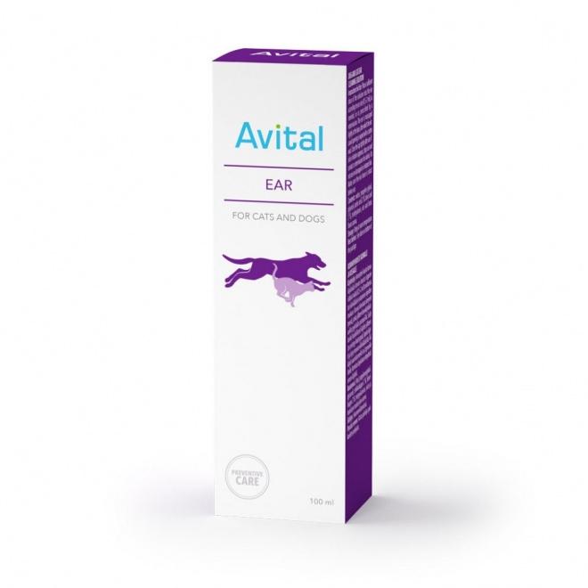 Avital Ear -korvapuhdiste 100ml