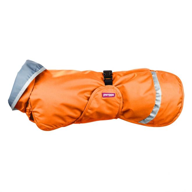 SadePomppa koiran takki, oranssi