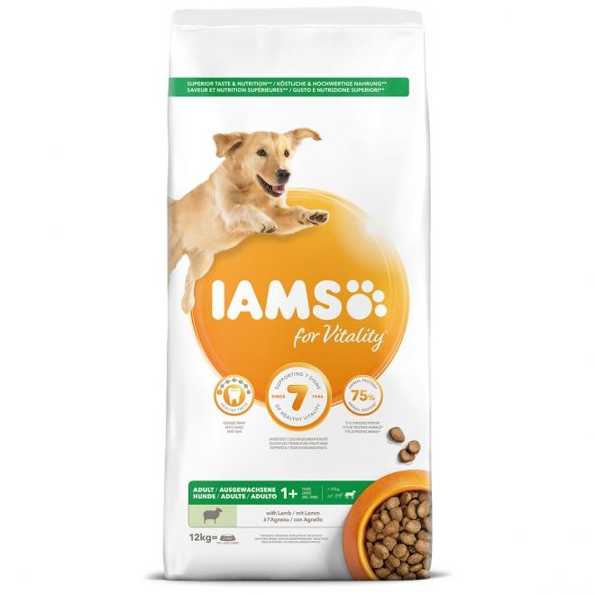 IAMS Adult Large Lamb 12 kg