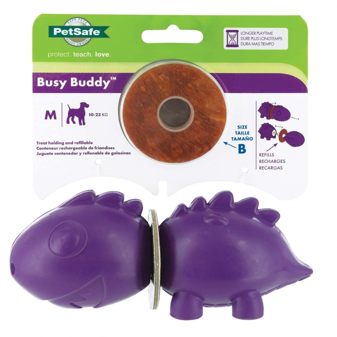 Busy Buddy Dinosaur koiran purulelu