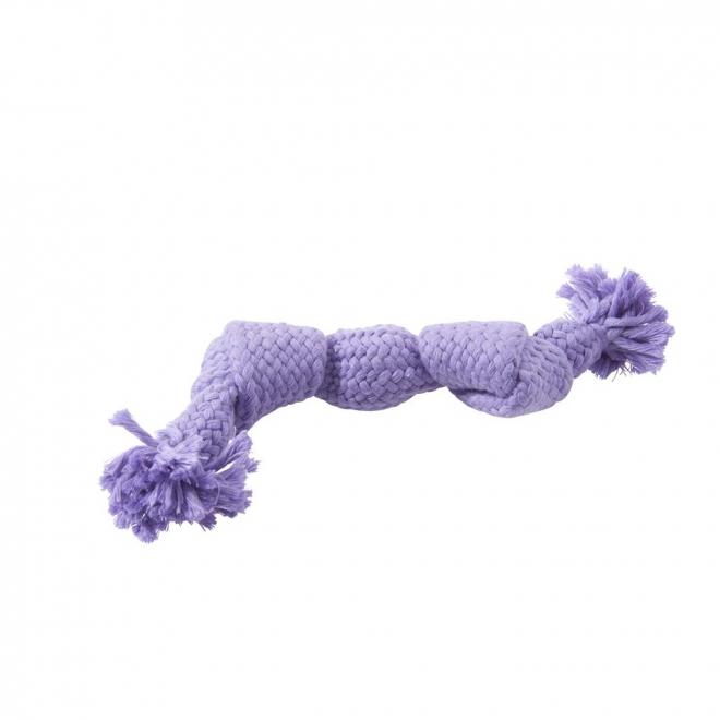 Koiran lelu Buster Squeak Rope, lila