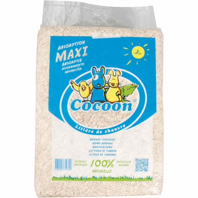 Pehmeä hamppukuivike Cocoon 3kg
