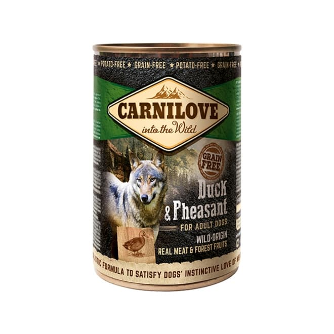 Carnilove Wild Meat ankka & fasaani 400g
