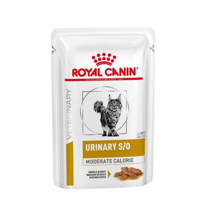 Royal Canin Veterinary Urinary Moderate Cal Cat wet 12 x 85 g