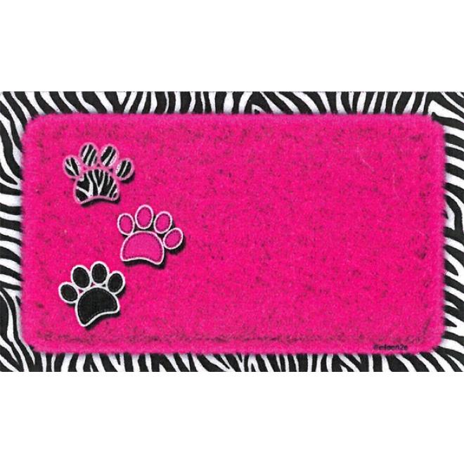 Ruokakupin alusta Drymate Zebra (Vaaleanpunainen)