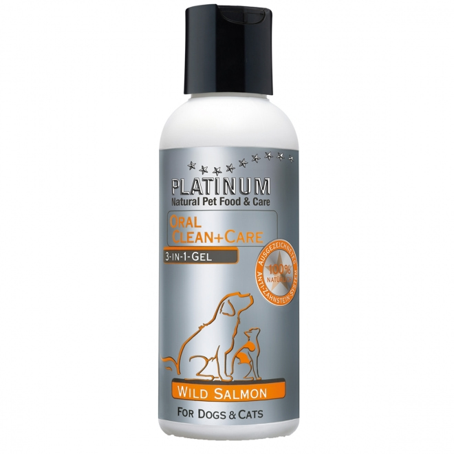 Platinum OralClean+Care Gel Salmon 120 ml