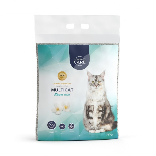 Compact Care Multicat Flower 14 kg