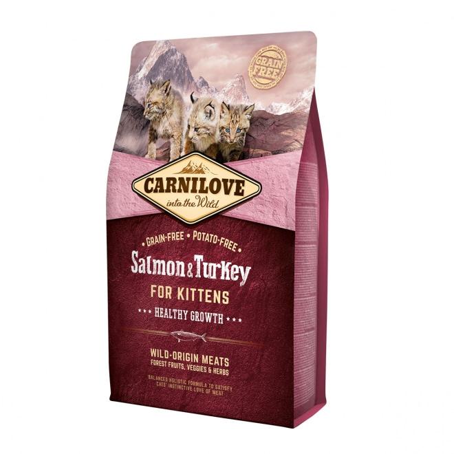 Carnilove Cat Kitten Salmon & Turkey