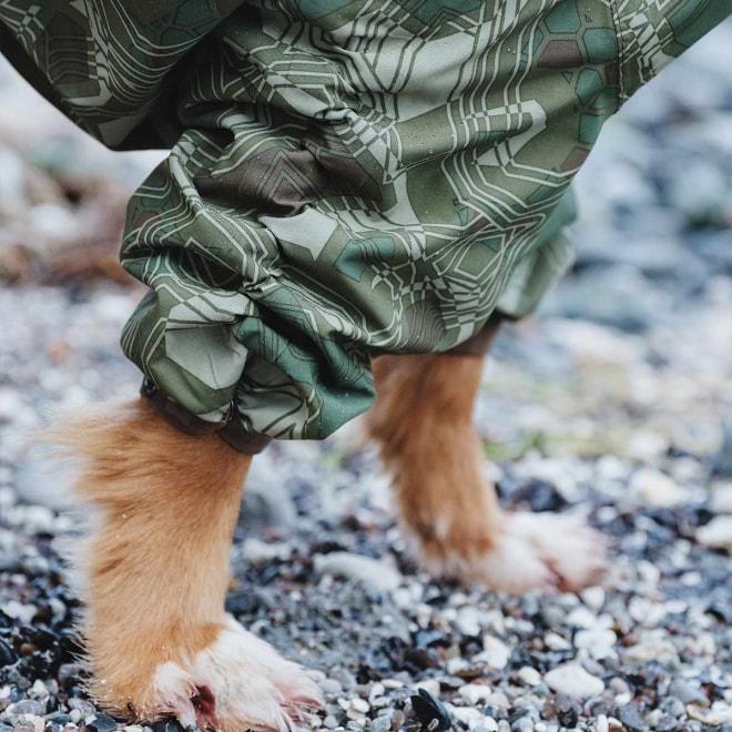 Hurtta Downpour koiran sadehaalari camo