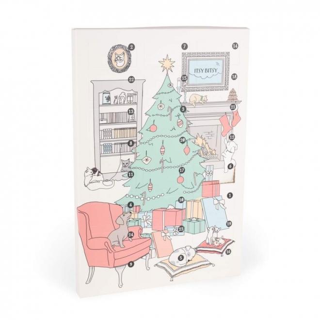 Joulukalenteri ItsyBitsy Meaty koirille ja kissoille