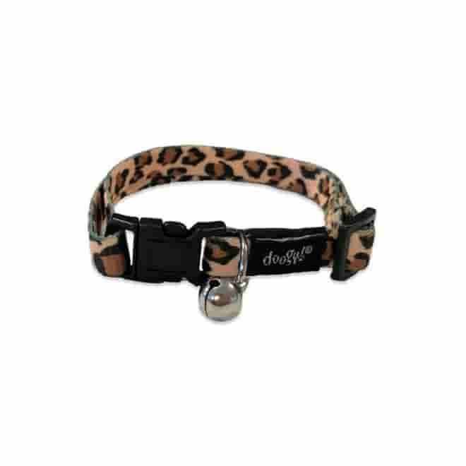 Kissan kaulapanta Doogy leopardi