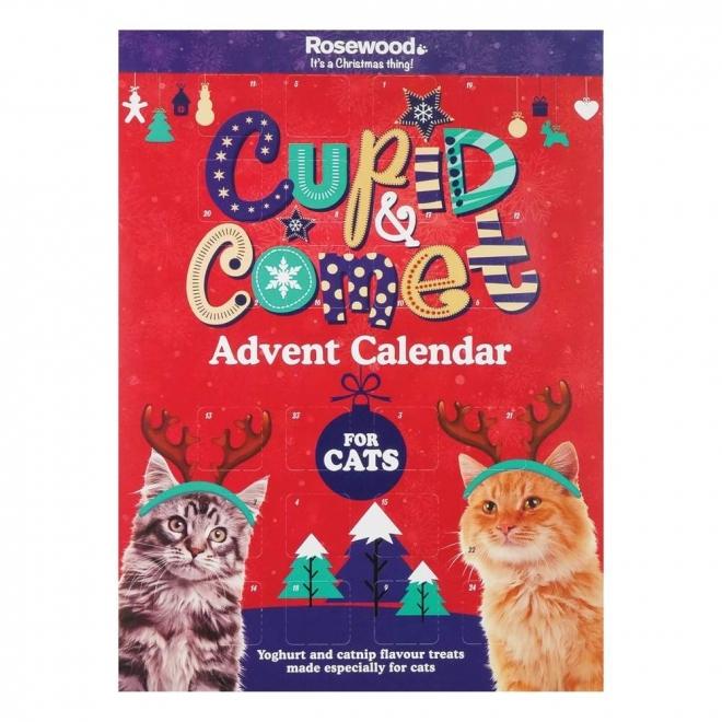 Kissan joulukalenteri Rosewood Cupid&Comet