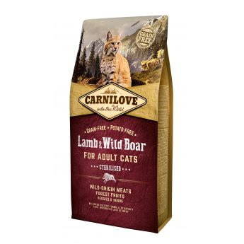 Carnilove Cat Lamb & Wild Boar