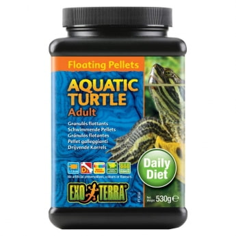 Exo Terra Aquatic Turtle Adult Floating Pellets 530 g