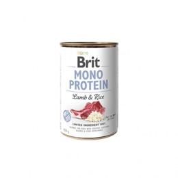 Brit Mono Protein Lamb & Brown Rice 400 g