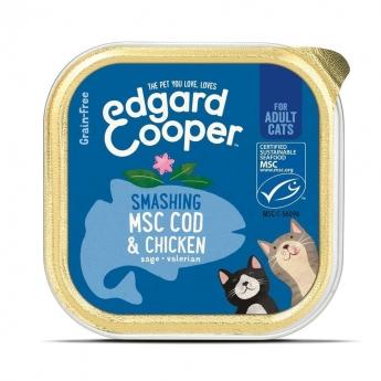 Edgard & Cooper Cat Kylling & MSC-torsk 85 g