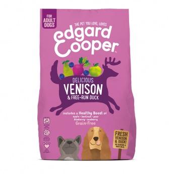 Edgard & Cooper Dog Grain Free Hjort & And