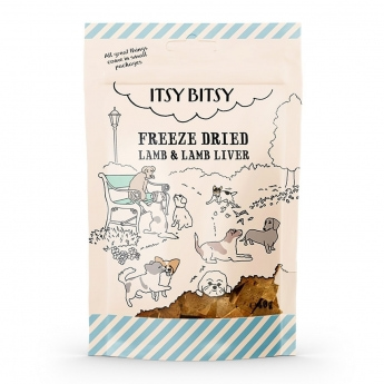 ItsyBitsy Dog Freeze Dried Lam & Lever