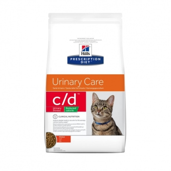 Prescription Diet Feline C/D Urinary Stress Reduced Calorie Chicken