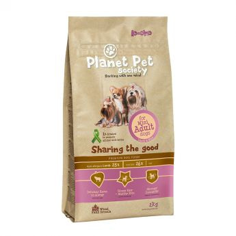 Planet Pet Society Mini Adult Lamb & Rice