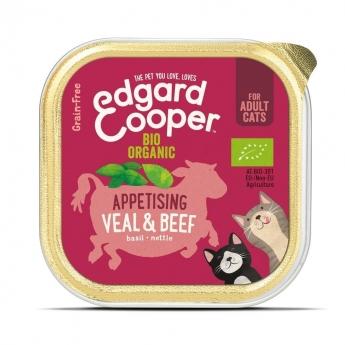 Edgard & Cooper Cat Organic Storfe & Kalv 85 g