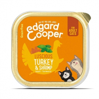 Edgard & Cooper Cat Kalkun & Reke 85 g