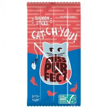 Miss Purfect Cat Sticks Laks 40 g