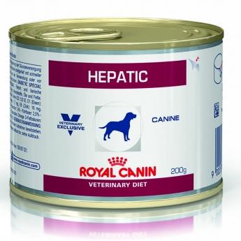 Veterinary Diets Hepatic Wet Dog 12x200 g