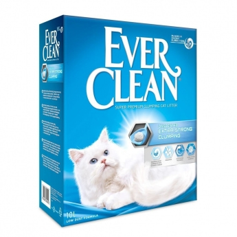 EverClean Xtra Strong Unscented Kattesand