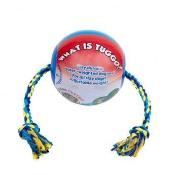Little&Bigger Tuggo Ball med Tau Blå